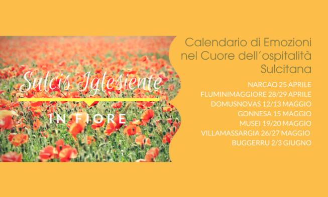 Primavera Sulcitana 2020 Calendario.Evento Sulcis Iglesiente In Fiore Calendario Di Emozioni
